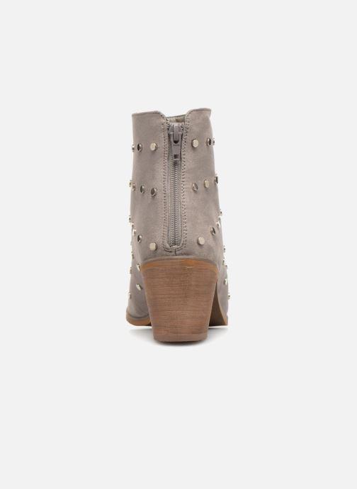 Boots en enkellaarsjes Vanessa Wu BT1596 Grijs rechts