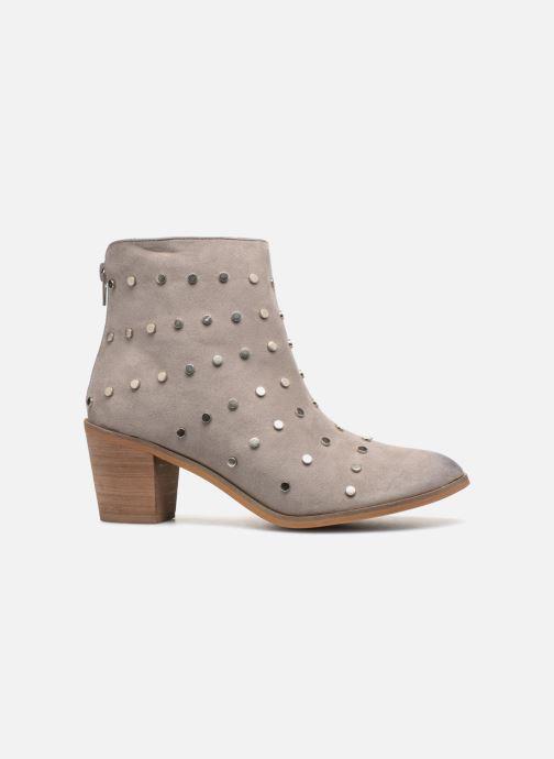Stiefeletten & Boots Vanessa Wu BT1596 grau ansicht von hinten