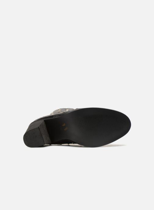 Stiefeletten & Boots Vanessa Wu BT1596 schwarz ansicht von oben
