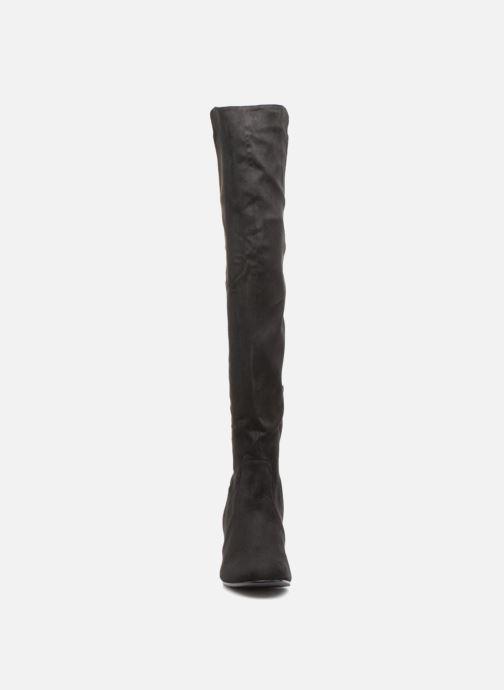 Bottes Vanessa Wu BT1653 Noir vue portées chaussures