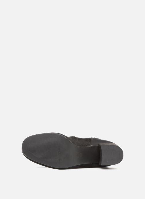 Stiefel Vanessa Wu BT1653 schwarz ansicht von oben