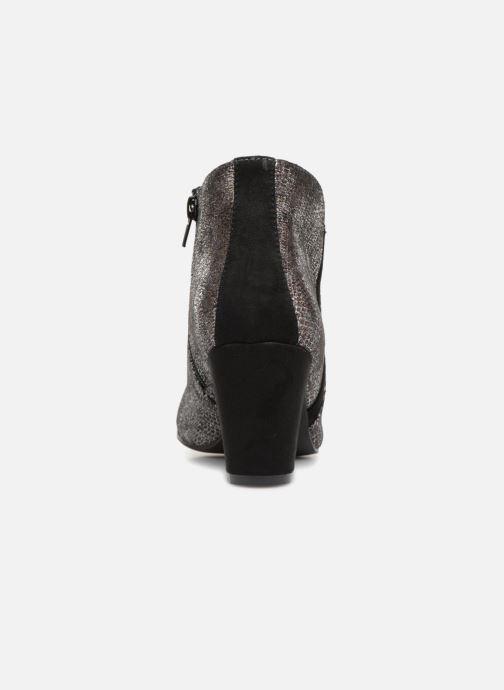 Boots en enkellaarsjes Vanessa Wu BT1677 Zilver rechts