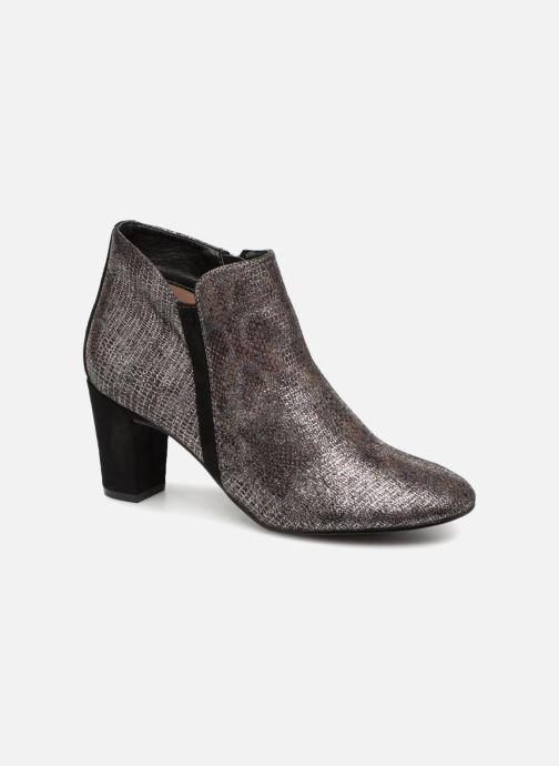 Ankelstøvler Vanessa Wu BT1677 Sølv detaljeret billede af skoene