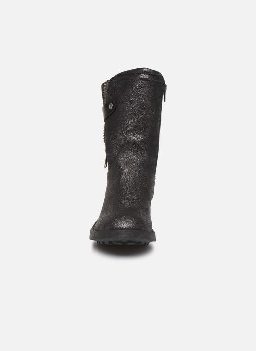 Bottines et boots Vanessa Wu BT1688 Noir vue portées chaussures