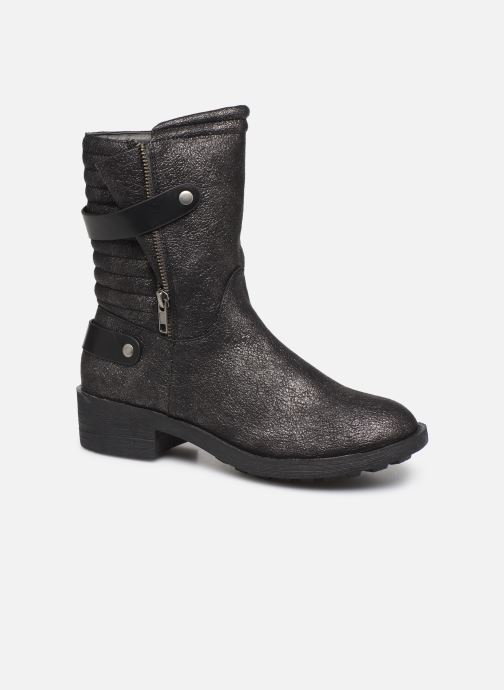 Ankle boots Vanessa Wu BT1688 Black detailed view/ Pair view