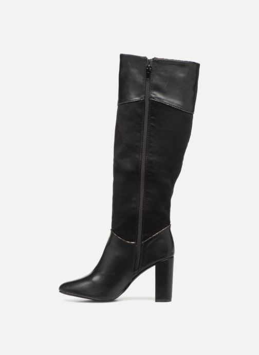 Stiefel Vanessa Wu BT1647 schwarz ansicht von vorne