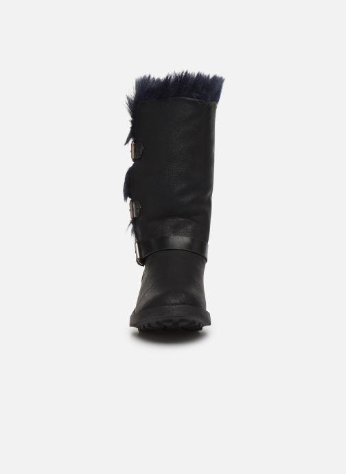 Stiefel Vanessa Wu BT1689 schwarz schuhe getragen
