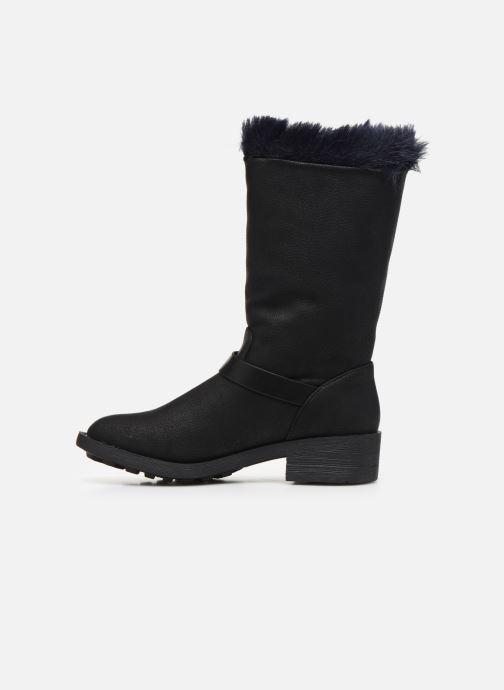 Stiefel Vanessa Wu BT1689 schwarz ansicht von vorne