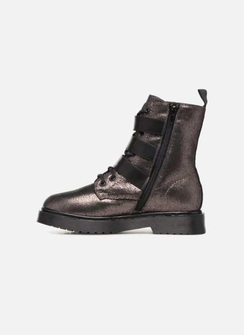 Bottines et boots Vanessa Wu BT1691 Argent vue face