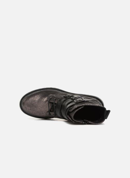 Bottines et boots Vanessa Wu BT1691 Argent vue gauche