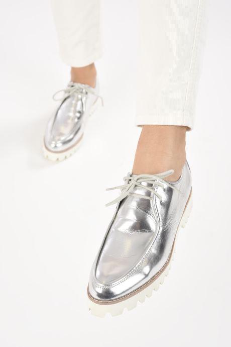 Zapatos con cordones Vanessa Wu RL1034 Plateado vista de abajo