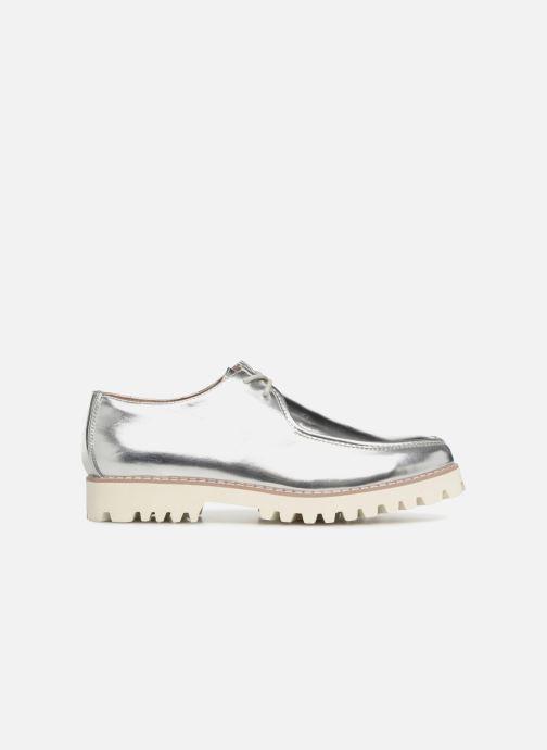 Zapatos con cordones Vanessa Wu RL1034 Plateado vistra trasera