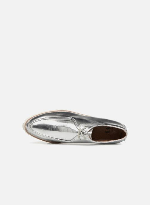 Zapatos con cordones Vanessa Wu RL1034 Plateado vista lateral izquierda