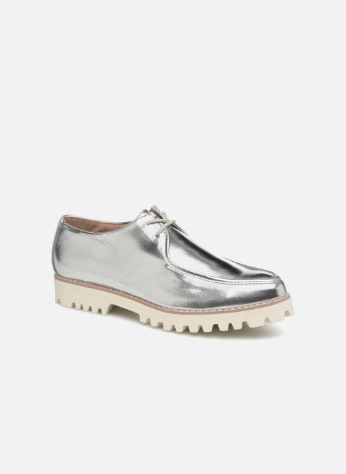 Zapatos con cordones Vanessa Wu RL1034 Plateado vista de detalle / par