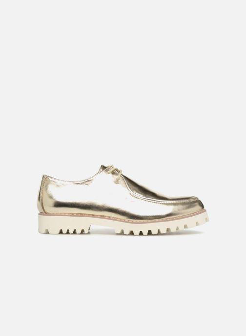 Zapatos con cordones Vanessa Wu RL1034 Oro y bronce vistra trasera