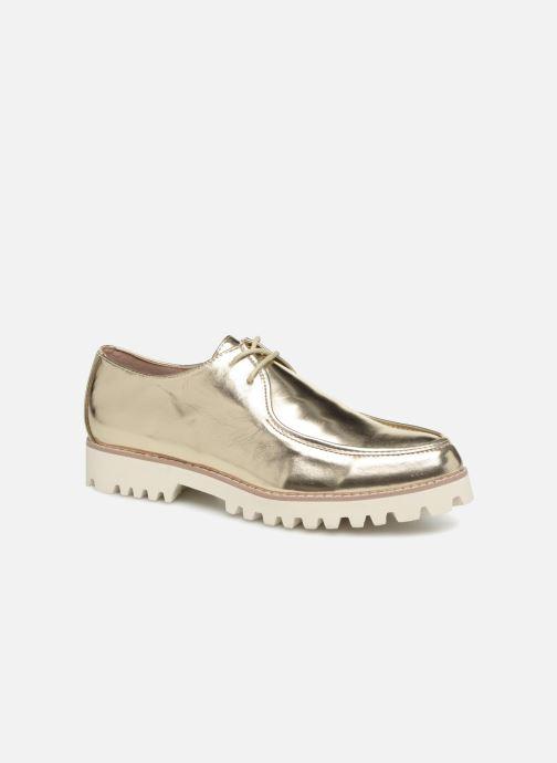 Zapatos con cordones Vanessa Wu RL1034 Oro y bronce vista de detalle / par