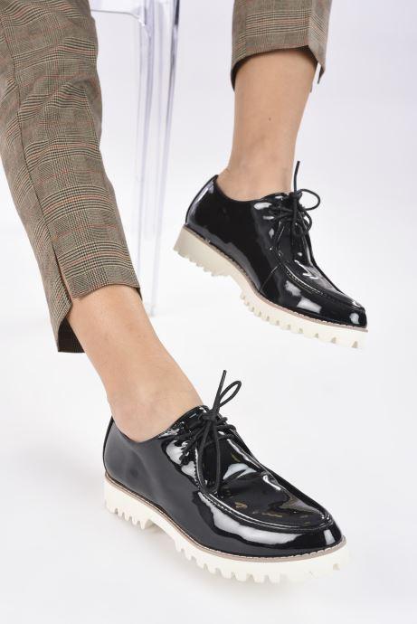 Zapatos con cordones Vanessa Wu RL1034 Negro vista de abajo
