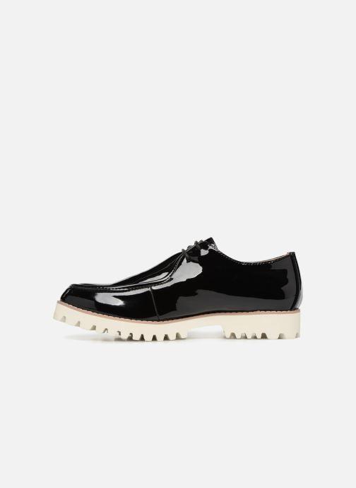 Zapatos con cordones Vanessa Wu RL1034 Negro vista de frente
