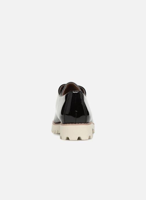 Chaussures à lacets Vanessa Wu RL1034 Noir vue droite