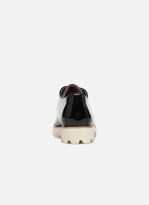 Zapatos con cordones Vanessa Wu RL1034 Negro vista lateral derecha