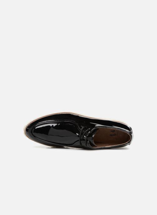 Zapatos con cordones Vanessa Wu RL1034 Negro vista lateral izquierda