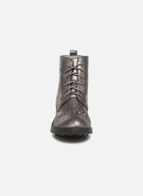 Bottines et boots Vanessa Wu BT1695 Gris vue portées chaussures