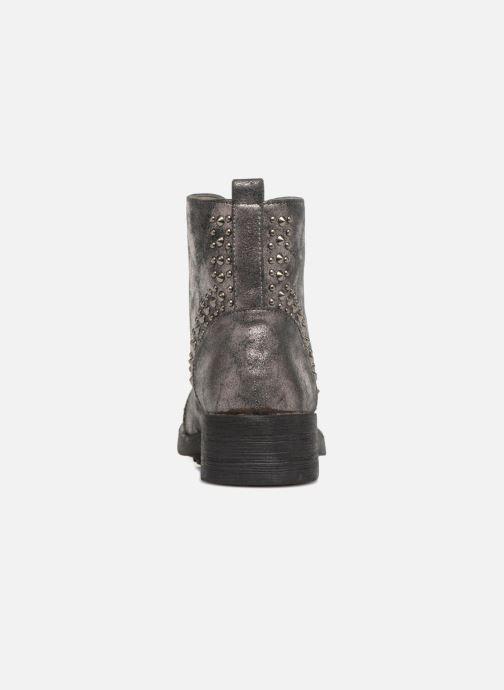 Bottines et boots Vanessa Wu BT1695 Gris vue droite