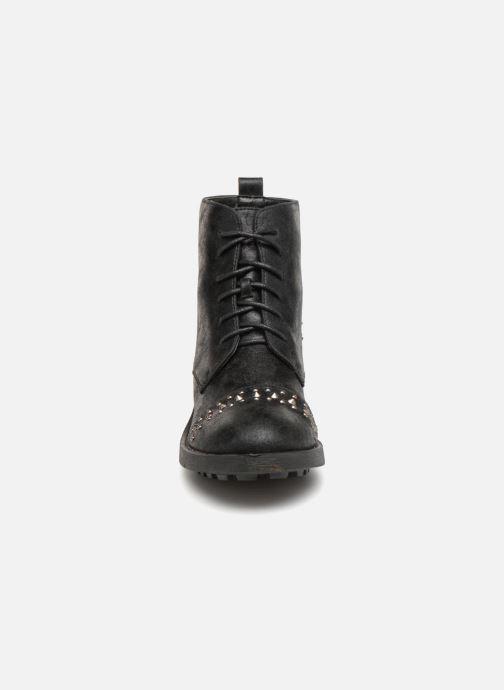 Boots en enkellaarsjes Vanessa Wu BT1695 Zwart model