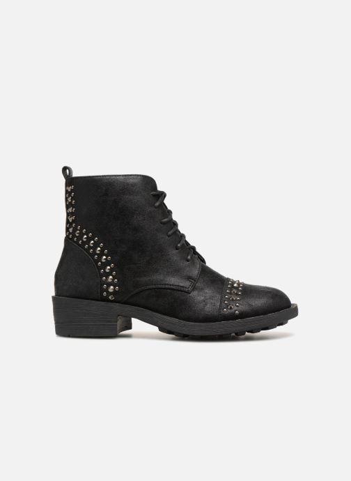 Boots en enkellaarsjes Vanessa Wu BT1695 Zwart achterkant