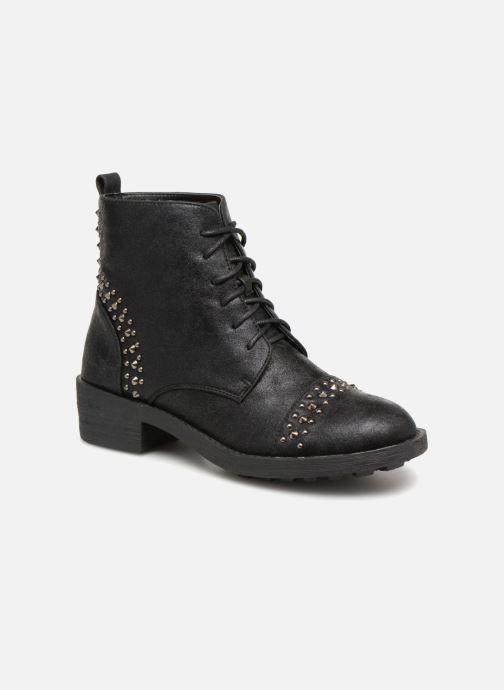 Boots en enkellaarsjes Vanessa Wu BT1695 Zwart detail