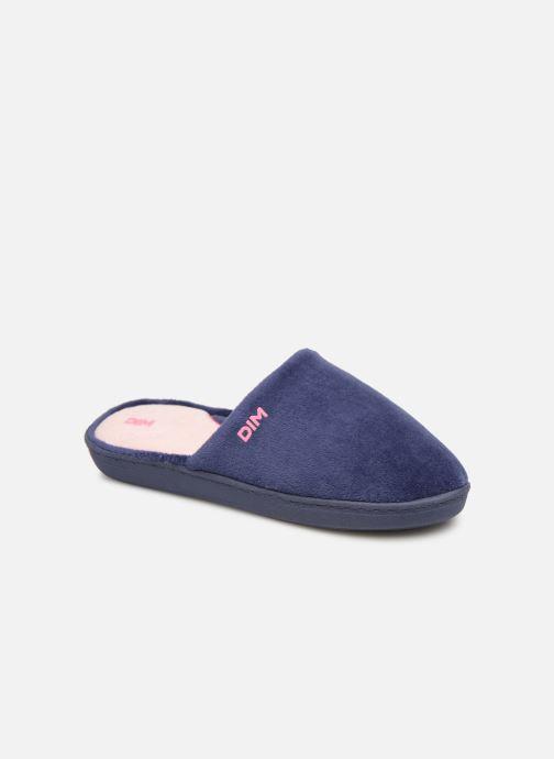 Hjemmesko Dim D Natre C Blå detaljeret billede af skoene