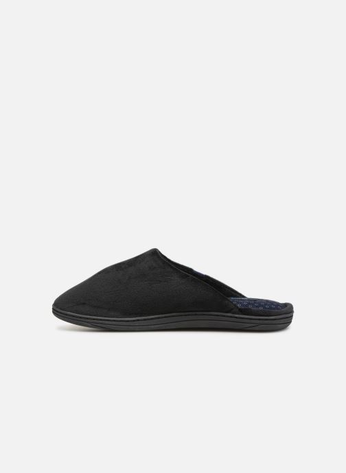 Slippers Dim D Paolo C Black front view