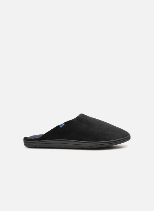 Slippers Dim D Paolo C Black back view
