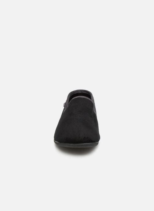 Chaussons Dim D Peyocat C Noir vue portées chaussures
