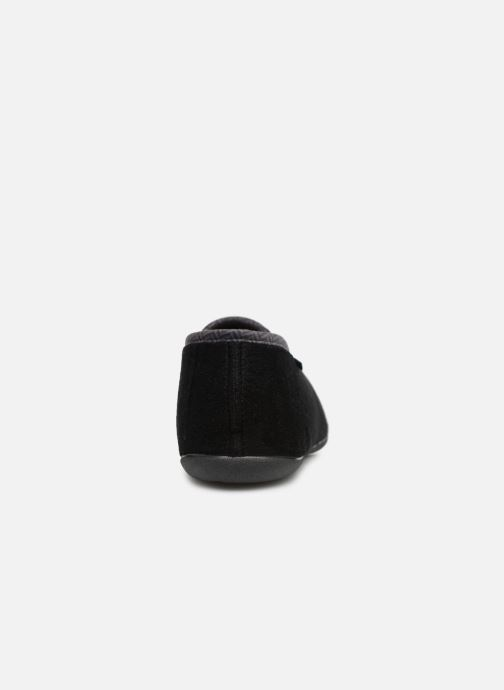 Slippers Dim D Peyocat C Black view from the right