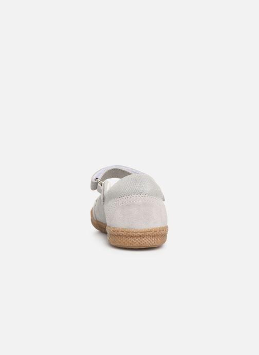 Ballerinas Primigi PTF 34328 silber ansicht von rechts