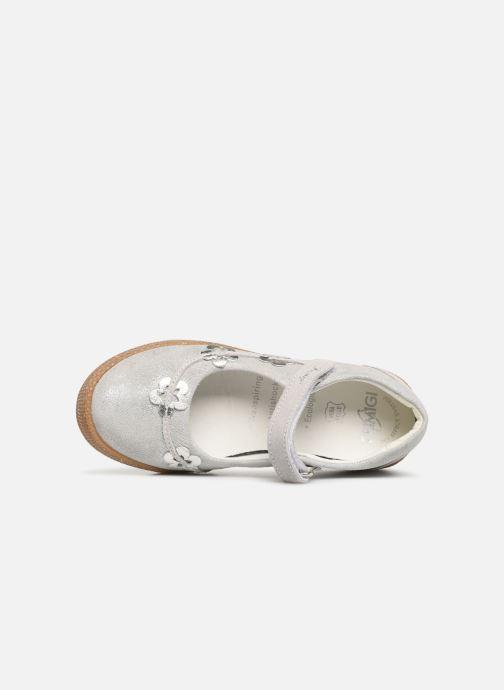 Ballerinas Primigi PTF 34328 silber ansicht von links