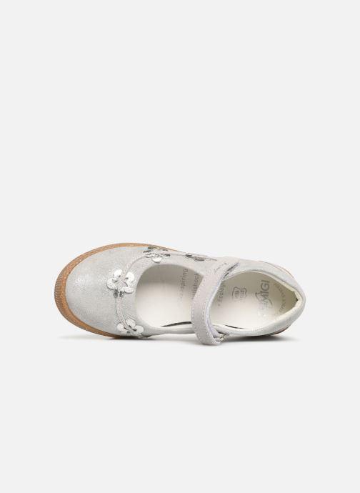 Ballet pumps Primigi PTF 34328 Silver view from the left