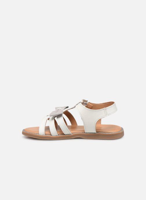 Sandales et nu-pieds Les Tropéziennes par M Belarbi Ingrida Blanc vue face