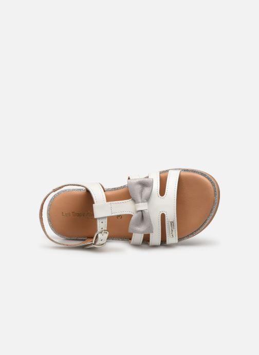 Sandales et nu-pieds Les Tropéziennes par M Belarbi Ingrida Blanc vue gauche