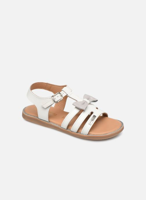 Sandales et nu-pieds Les Tropéziennes par M Belarbi Ingrida Blanc vue détail/paire