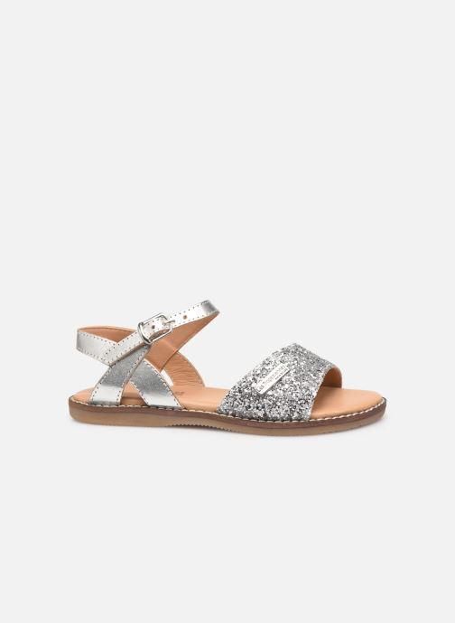 Sandales et nu-pieds Les Tropéziennes par M Belarbi Ivana Argent vue derrière