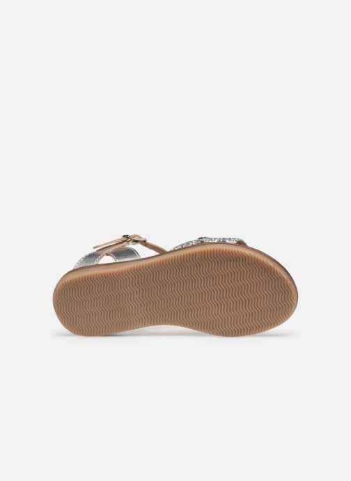 Sandales et nu-pieds Les Tropéziennes par M Belarbi Ivana Argent vue haut