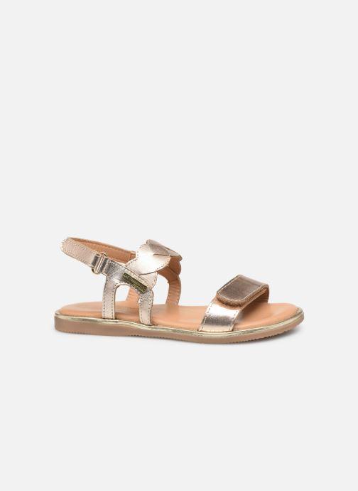 Sandales et nu-pieds Les Tropéziennes par M Belarbi Ilam Or et bronze vue derrière