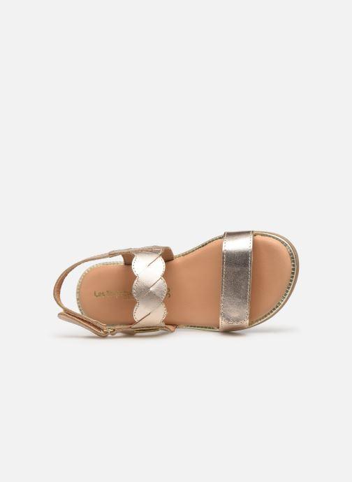 Sandales et nu-pieds Les Tropéziennes par M Belarbi Ilam Or et bronze vue gauche