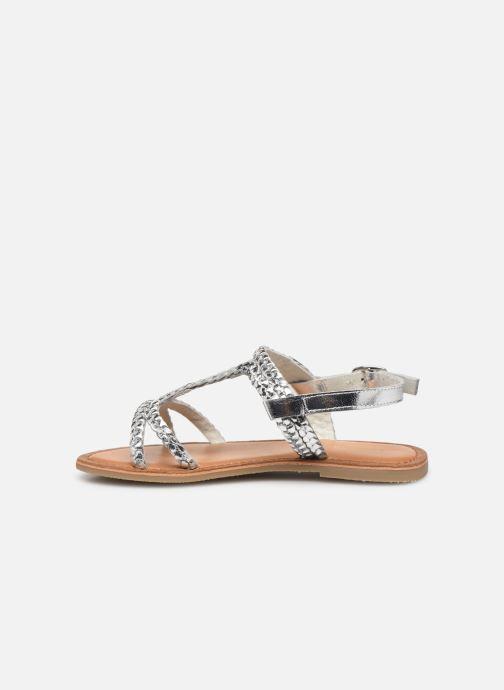 Sandales et nu-pieds Les Tropéziennes par M Belarbi Tissiana Argent vue face