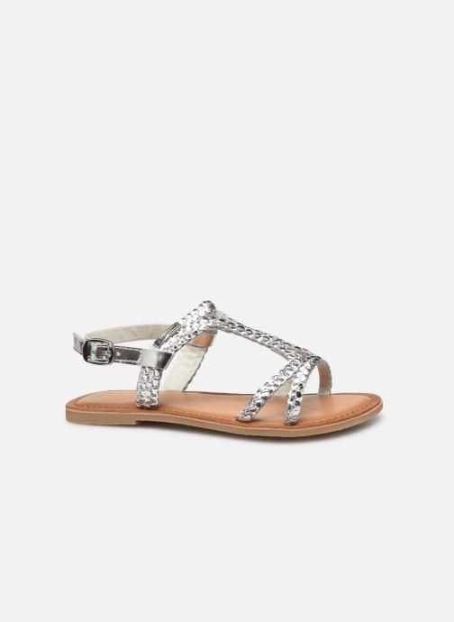 Sandales et nu-pieds Les Tropéziennes par M Belarbi Tissiana Argent vue derrière