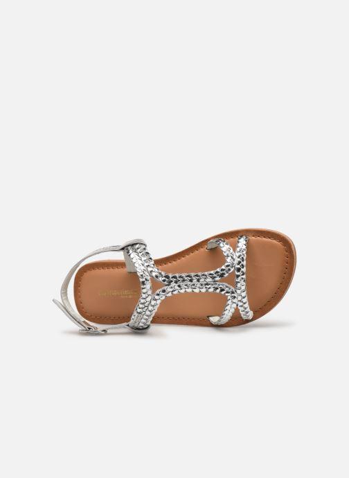 Sandales et nu-pieds Les Tropéziennes par M Belarbi Tissiana Argent vue gauche