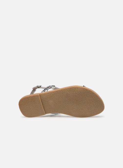 Sandales et nu-pieds Les Tropéziennes par M Belarbi Tissiana Argent vue haut