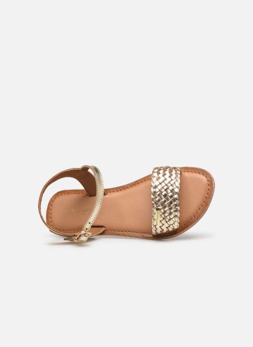 Sandales et nu-pieds Les Tropéziennes par M Belarbi Tony Or et bronze vue gauche